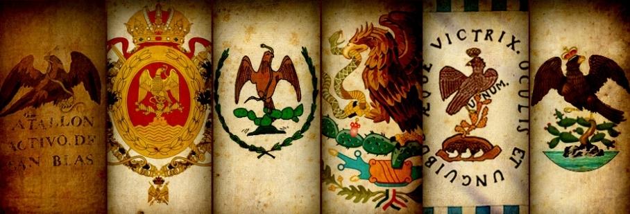 Evolución Escudos de México