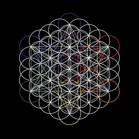 Flor de la Vida y el cubo de Metatron