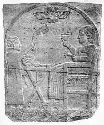Hittite tomb stela from the 8th century BC 1