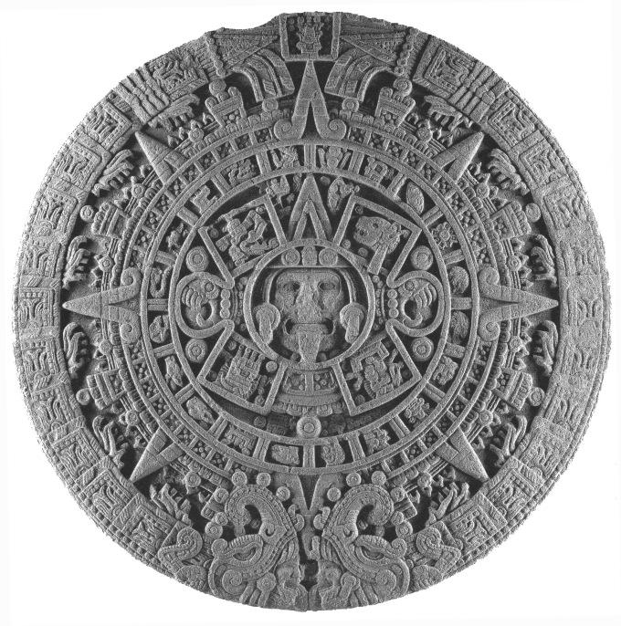piedra del sol calendario azteca crop - EL VATICANO Y LA SIMBOLOGÍA PAGANA