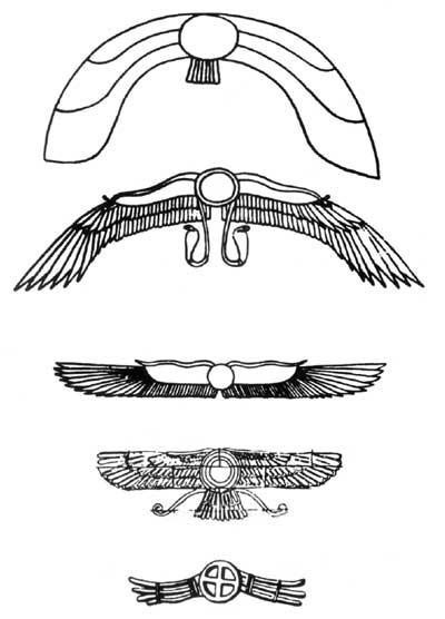 Símbolos del disco alado
