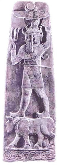 Teshub - dios de las tormentas hitita