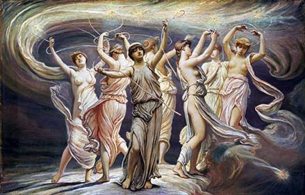 The Pleiades by Elihu Wedder 1885