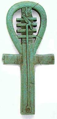 Amuleto - Was Scepter, Djed Pillar and Ankh