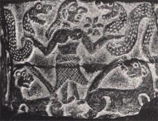 Vaso de Khafaje plano (c.2700-2500 a.C.)