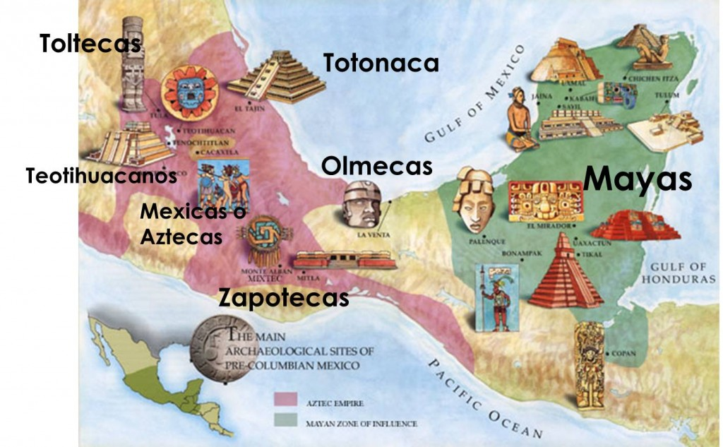 Principales culturas de Mesoamérica