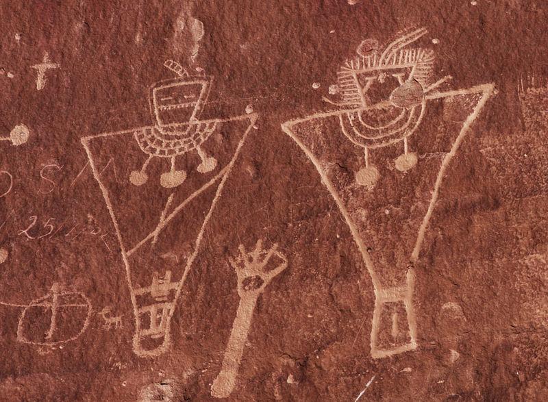 Fremont petroglyphs, Sego Canyon