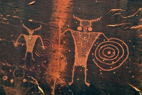 Petroglifo hopi