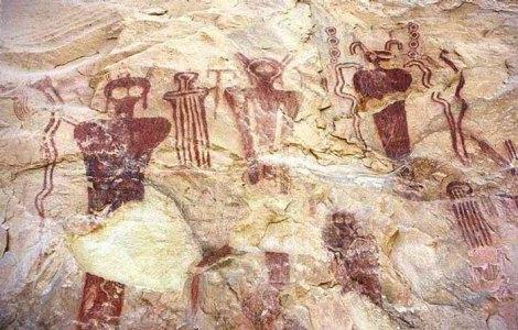 Sego Canyon , Utah. Estimated up to 5,500 BC.
