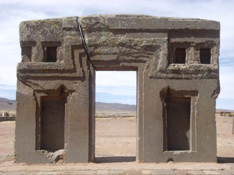 Puerta del Sol Tihuanaco