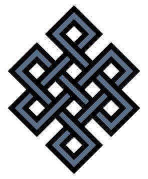 Símbolo de Budista del Nudo Eterno