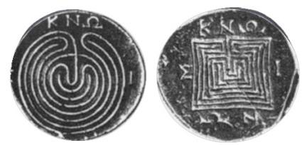 Monedas griegas, Knossos. 200-250ac (3)