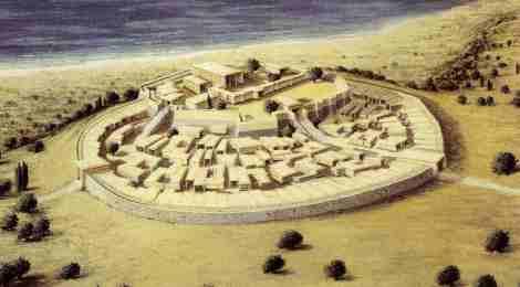 Reconstrucción de Troya II, (2.600 – 2.450 AEC).