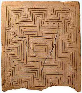 tablilla de cerámica Babilonica, 2000-1700 aC