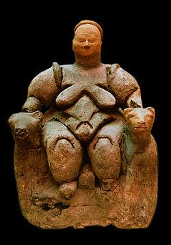 Mujer sentada de Çatalhöyük