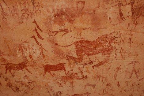 Cueva de las Bestias, Gilf Kebir, Wadi Sura, Egipto
