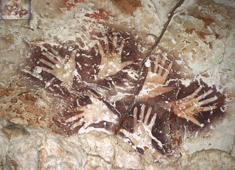 le Bouquet de Mains (Bornéo) d'Ilas Kenceng