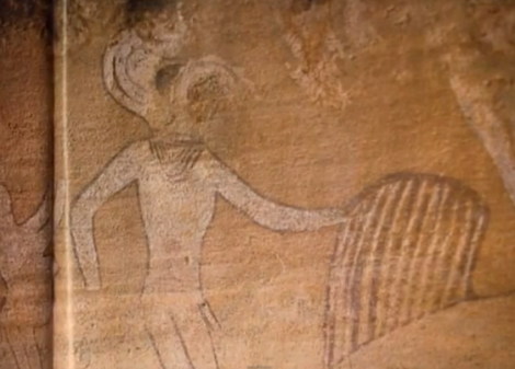 Pintura Rupestre de Tassili n'Ajjer