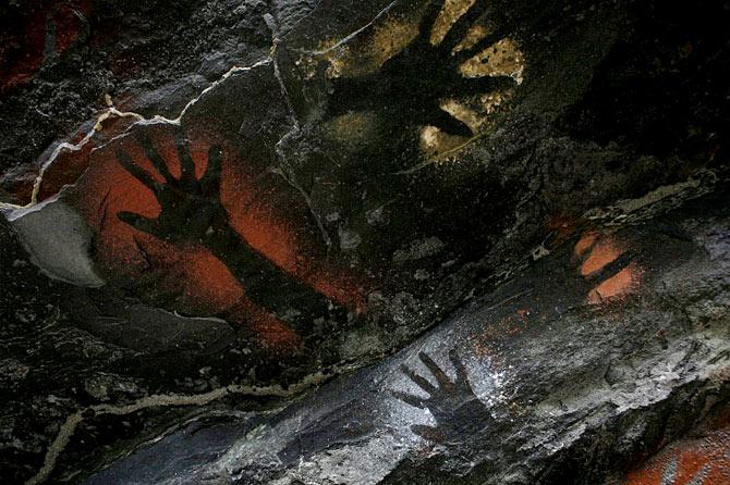 Cueva de Meakambut, Karawari, Papúa Nueva Guinea