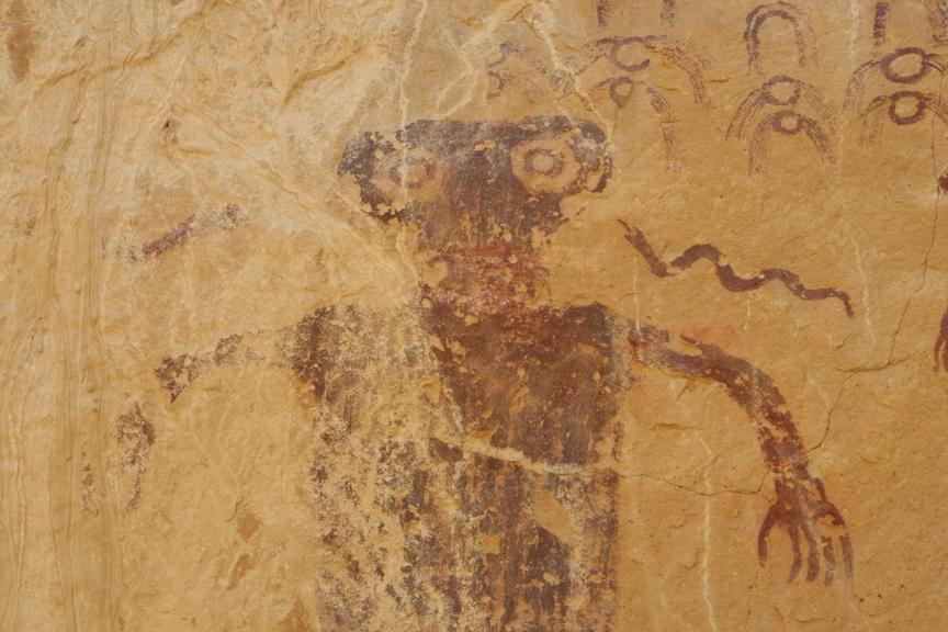 Head of Sinbad - Panel 1 Detail Left (San Raphael Swell)
