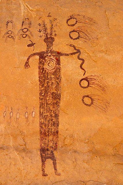 Head of Sinbad - Panel 1 Detail Right (San Raphael Swell)