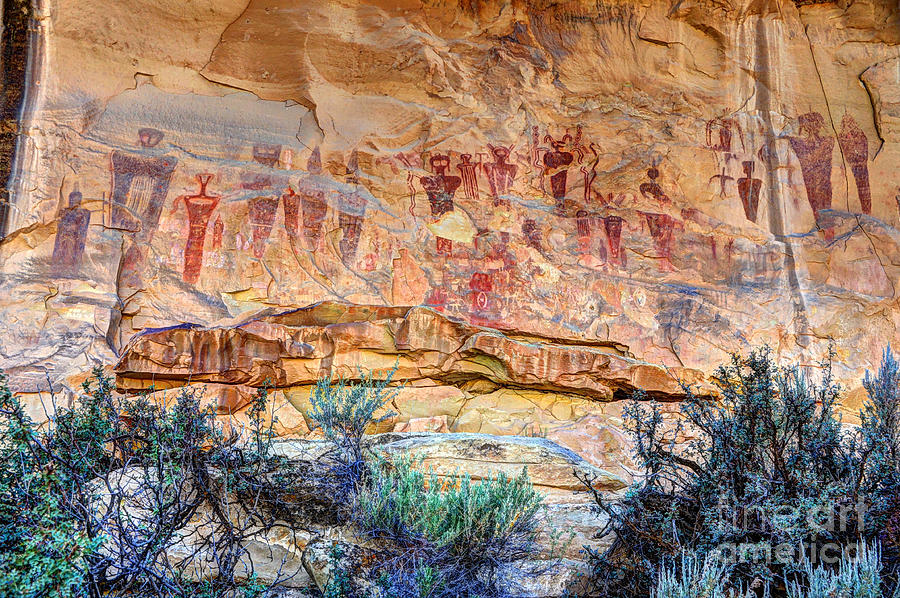 Sego Canyon - full panel
