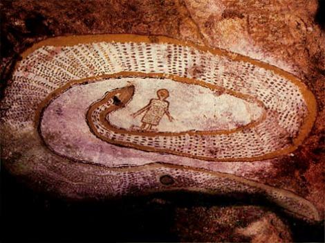 La Serpiente Arcoiris, Ungut