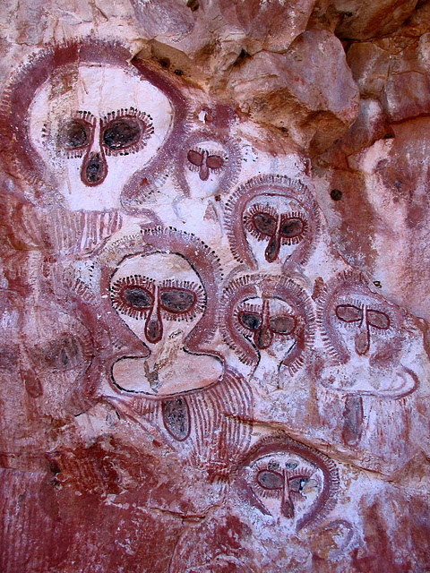 The Kimberly - Land of the Wandjina Circa 5,000 years old 3