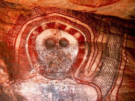 Wandjina Mowanjum community outside Derby Western Australia 5