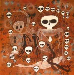 wandjinas-paintings
