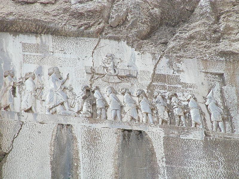 800px-Bisotun_Iran_Relief_Achamenid_Period