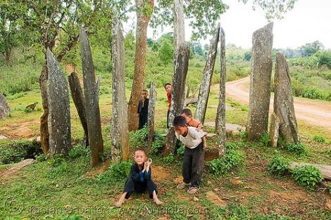hin-tang-archaeological-park-hua-phan-menhirs-laos