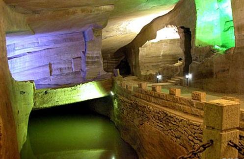 Huashan Caves, China