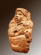Quetzalcoatl-Piedra Cultura Azteca (1350-1521 d. C.), México Musée du Louvre Depósito del Musée de l'Homme