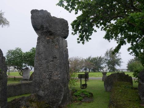 Piedras Latte en Casa Taga, Tinian