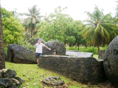Fallen_latte_stones_at_Taga_House,_Tinian