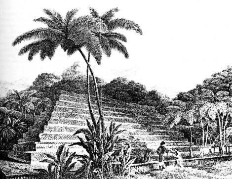 Mururoa-Mahaiatea, Tahiti-Pyramide 1788