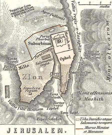 Resultado de imagen de king david's life maps
