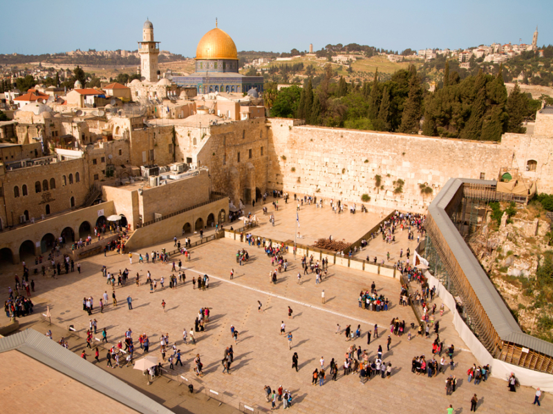 Kingdom Holidays - Western Wall in Jerusalem - photo taken by Noam Chen for the Israeli Ministry of Tourism
